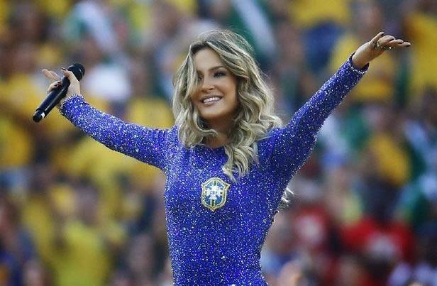 Brazilian Singer Claudia Leitte