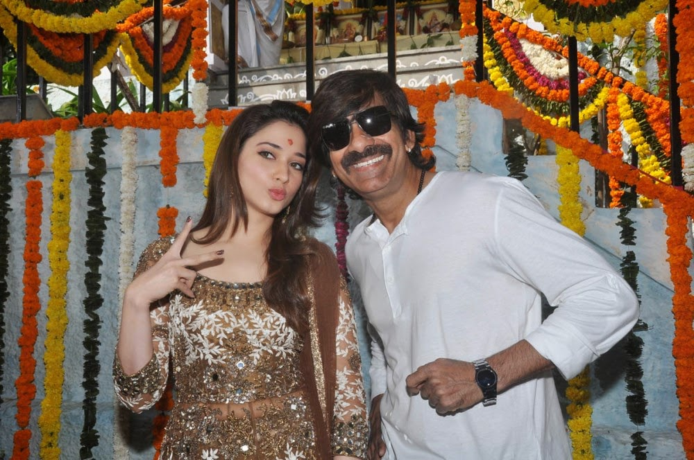 Ravi Teja's Bengal Tiger Movie Launch HD Images