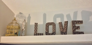 DIY Home Letters