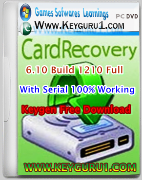 CARDRECOVERY V6.10 BUILD 1210 KEYGEN