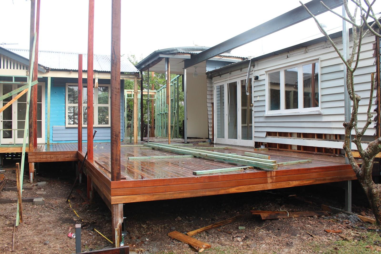 subfloor backdoor steel beams laundry