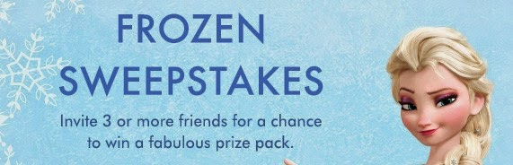 Zulily Disney Frozen Sweepstakes Event