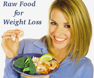 raw food diet weight loss article
