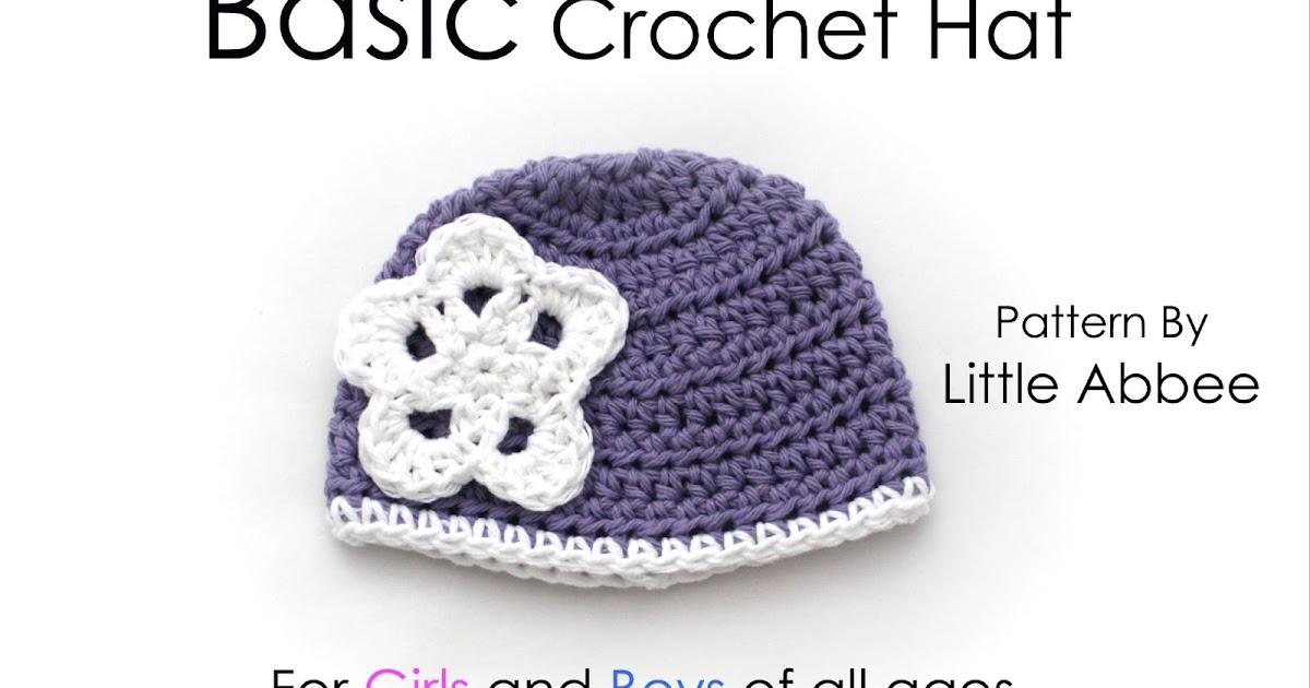 Tutorial Basic Crochet Hat