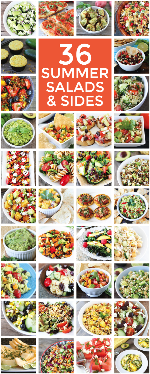 36 Summer Salads and Sides Recipes