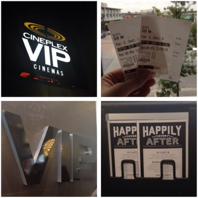 Cineplex VIP Experience Cineplex VIP Cineplex Entertainment