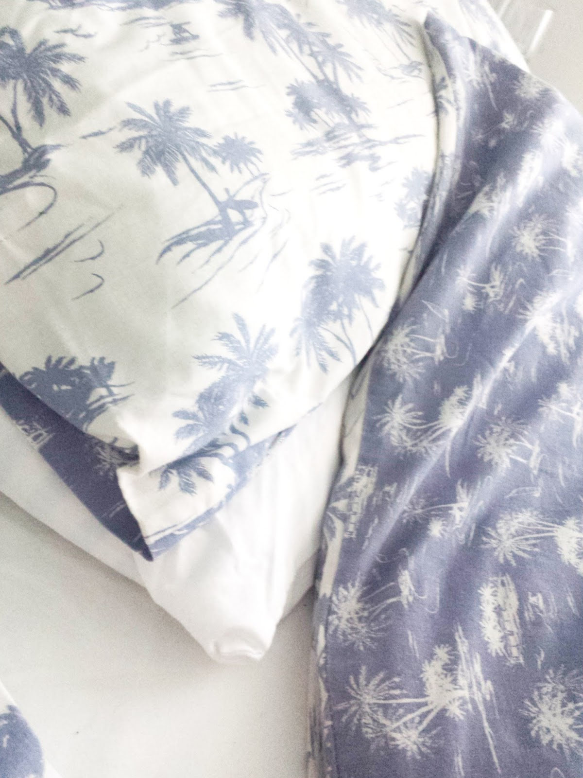 Primark Palm Tree Bedding