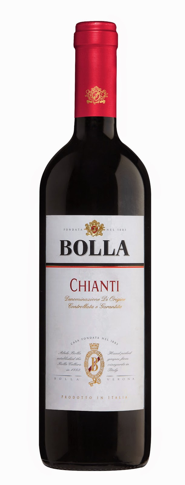 bottle of Bolla Chianti
