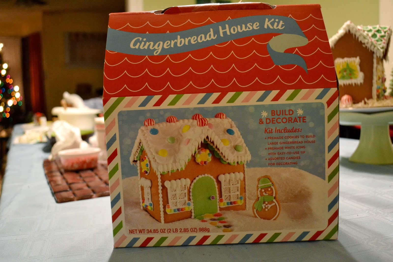 Premade Gingerbread Houses Simple Savory Satisfying Gingerbread House 2013