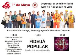 Acto-Fiesta del 1º de Mayo del PCA-UJCE