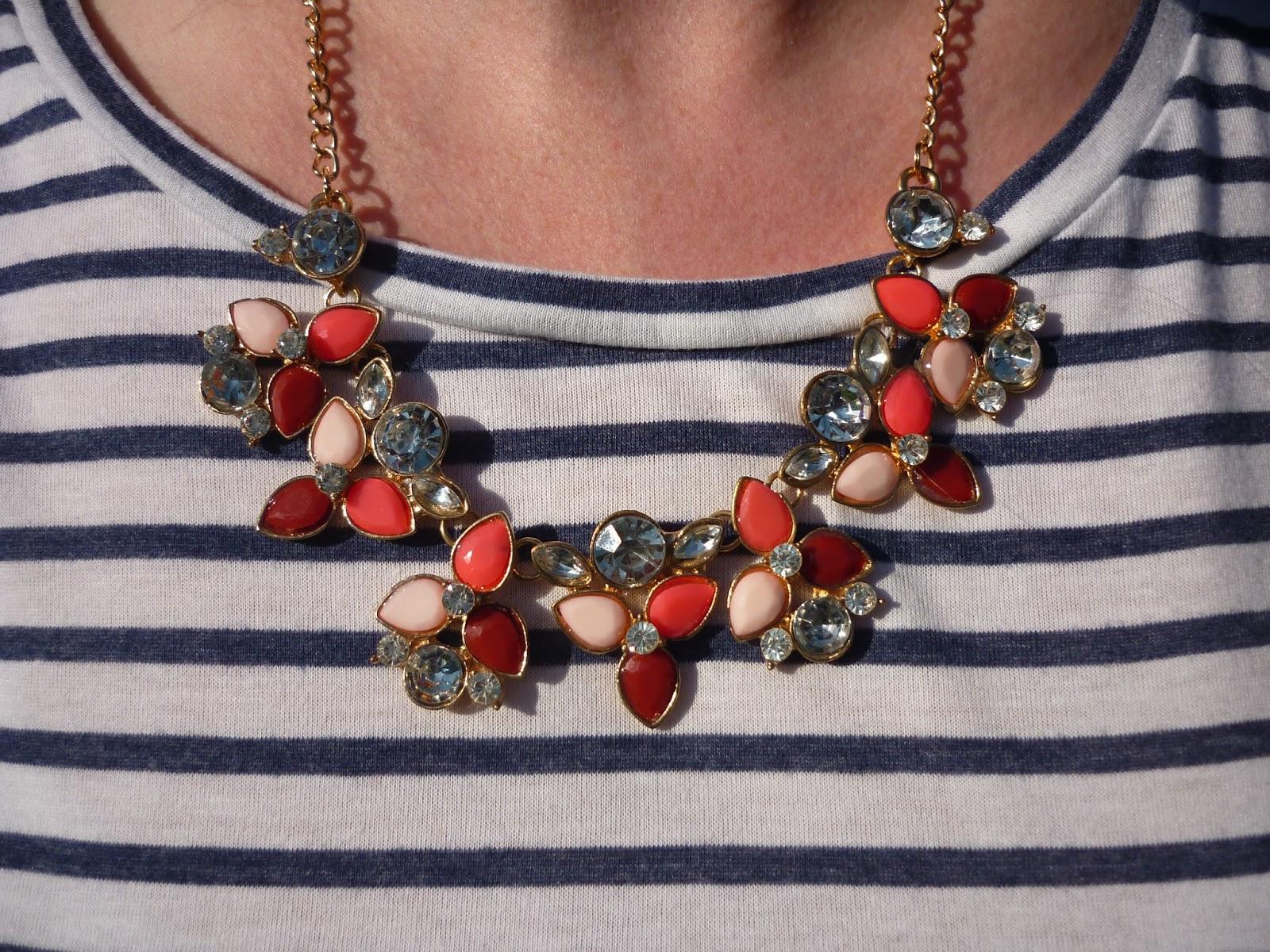 Statement Necklace | Petite Silver Vixen