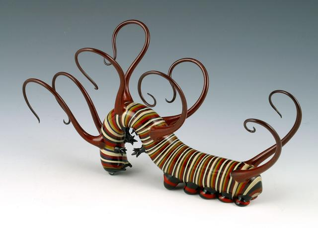 11-Cool-Caterpillar-Scott-Bisson-Glass-Sea-and-Land-Animals-www-designstack-co