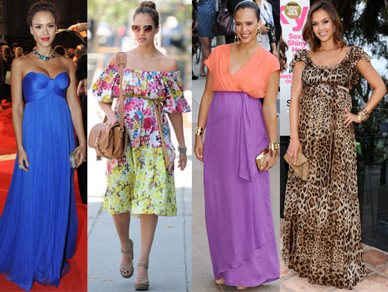 best celebrity maternity dresses-hollywood dress style