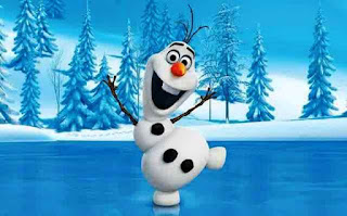Wallpaper Olaf Frozen