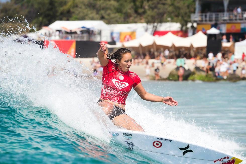 18 Roxy Pro Gold Coast 2015 Carissa Moore Foto WSL Kelly Cestari