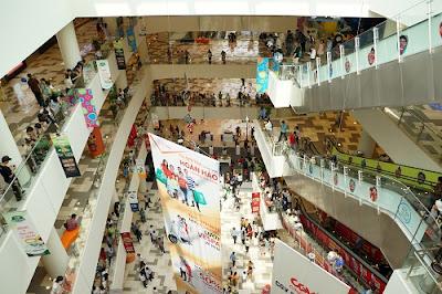 Trung tâm mua sắm hàng đầu Singapore đã đến Việt Nam