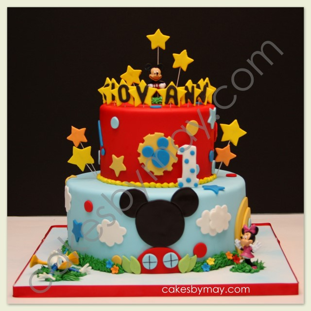 Cakes by Maylene: Mickey Mouse Clubhouse Birthday Cake