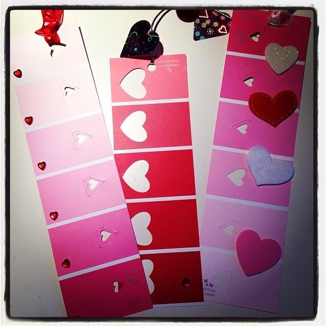 Bricolage signets pour la st valentin diy - Pinterest bricolage st valentin ...