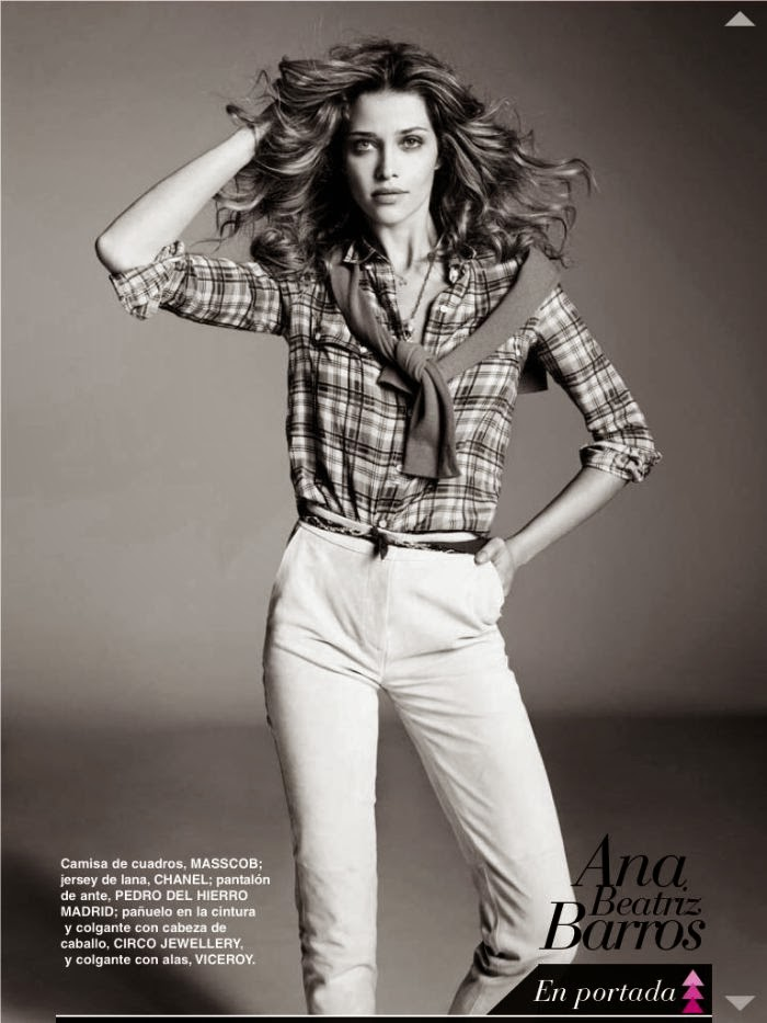 Ana Beatriz Barros Telva Magazine Photoshoot February 2014 By Marcin Tyszka