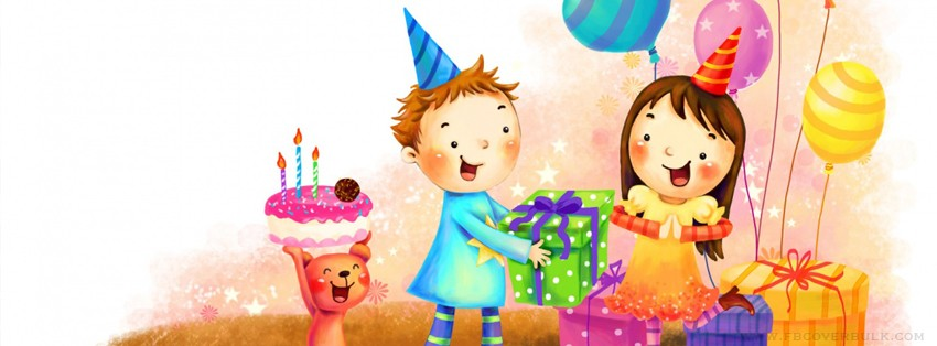 Birthday Celebrations Facebook Timeline Cover