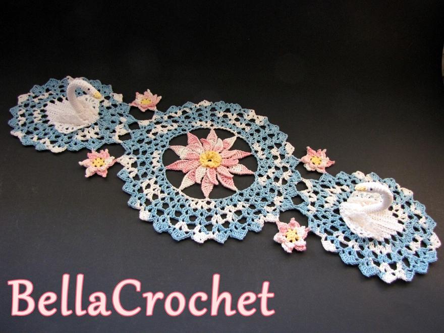 BellaCrochet: Serene Swans Doily: A Free Crochet Pattern ...