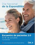20 de octubre Día Nacional de la Espondilitis