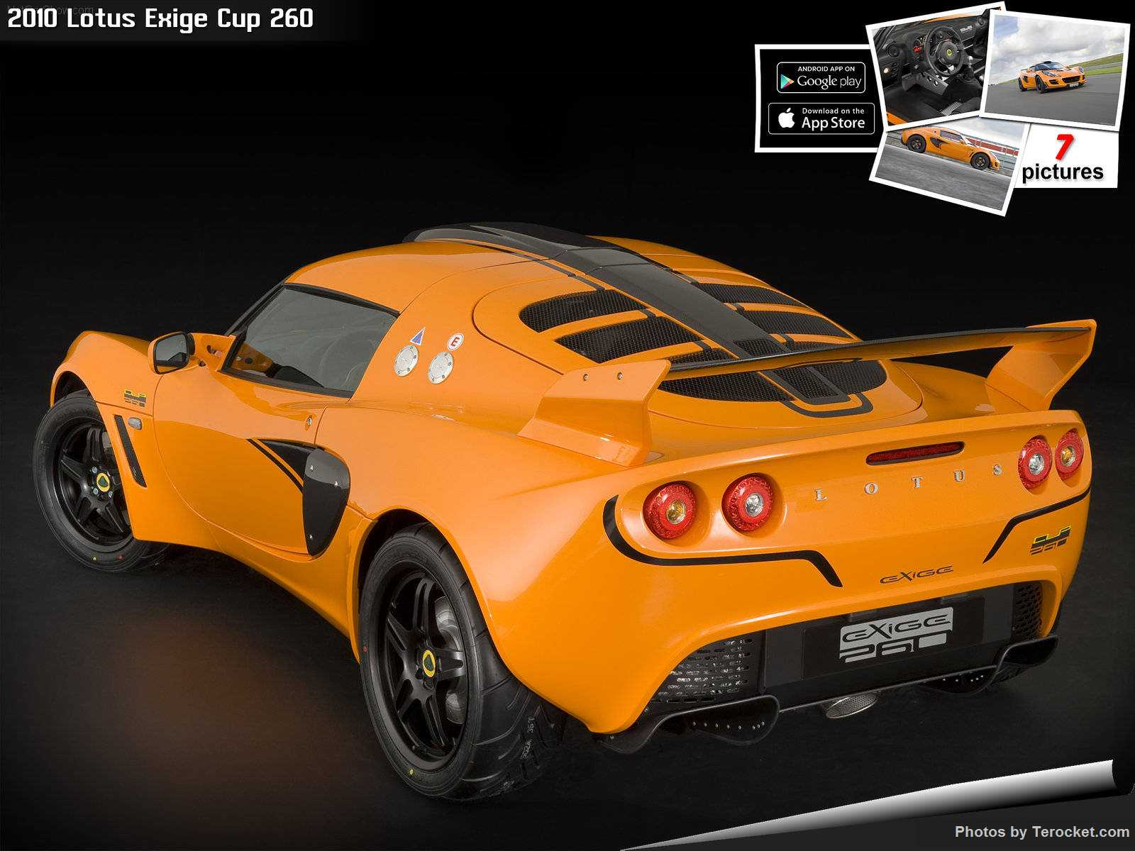 Hình ảnh siêu xe Lotus Exige Cup 260 2010 & nội ngoại thất
