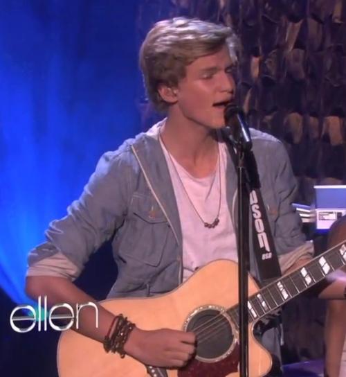 Cody Simpson wearing Jenny Dayco bracelets and necklace