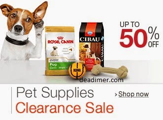 Pet Supplies Clearance Sale Up to 50% Off