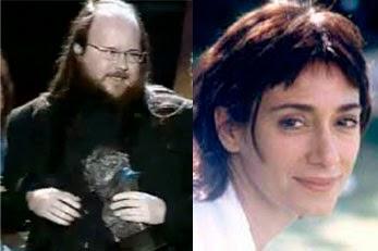 Santiago Segura y Rosana Pastor, premios Goya a los mejores actores Revelación 1995
