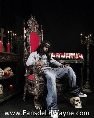 Foto de Lil Wayne en una sesion fotografica