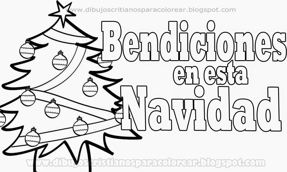 Moderno Navidad Para Colorear Páginas Cristiano Motivo - Dibujos ...