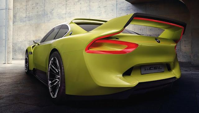 BMW 3.0CSLオマージュ リアスポイラー