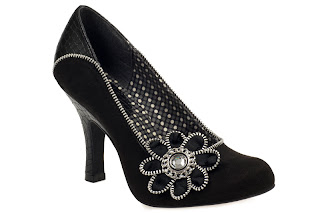 Ruby Shoo Black Monroe, £39.95