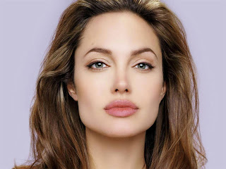 Angelina Jolie Hot Closeup Blonde