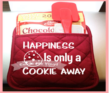 Oven Mitt Kit (Happiness is)