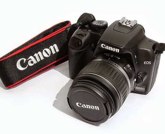 Spesifikasi CANON EOS 1000D kit