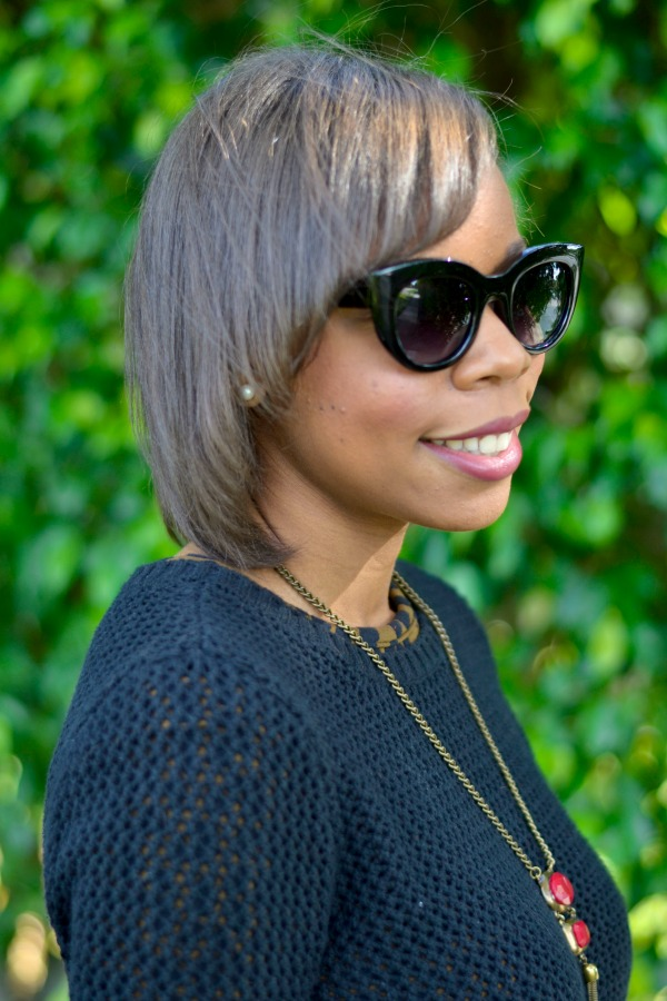 Fall Outfit Ideas | Kate Spade Cat Eye Sunglasses