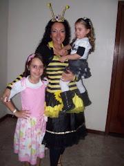 Cantora Eduarda e Cantora Cristina Mel com sua Filhinha Isabela Mel - Lindinha !