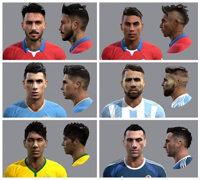 PES 2013 Facepack Chile 2015 By Ausa92
