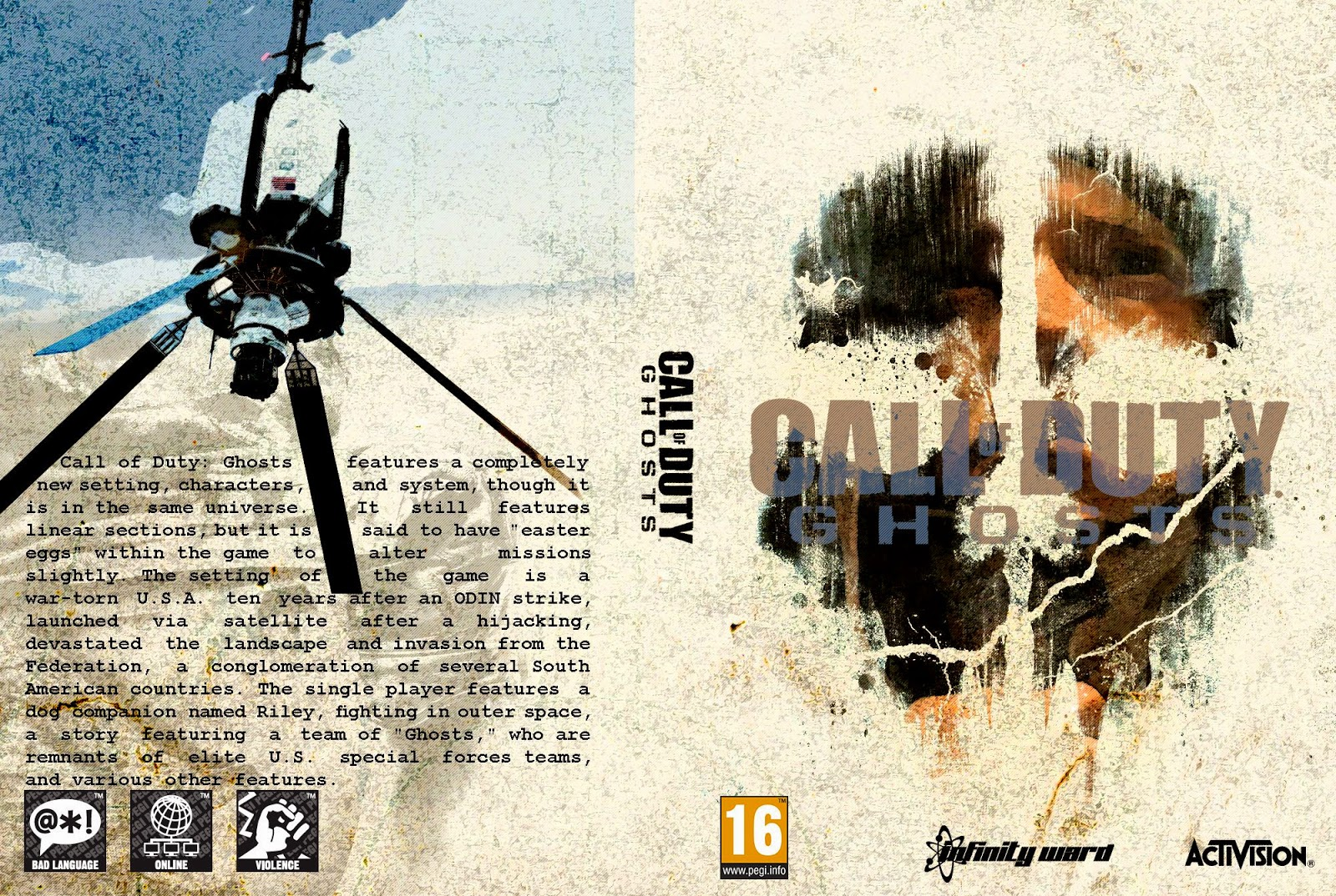 Capa Call Of Duty Ghots PC