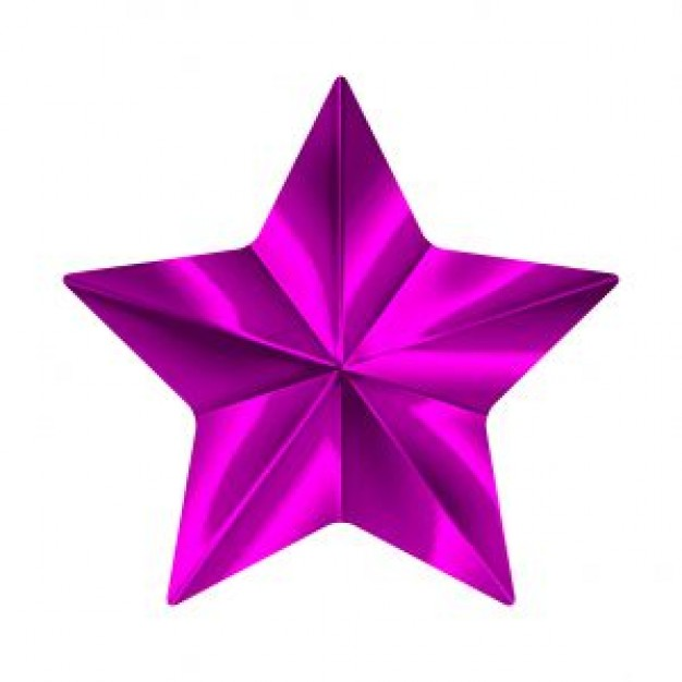Estrellas de color morado - Imagui