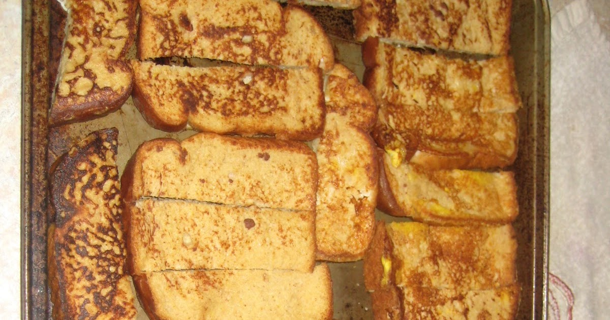 how to make french toast sticks to freeze