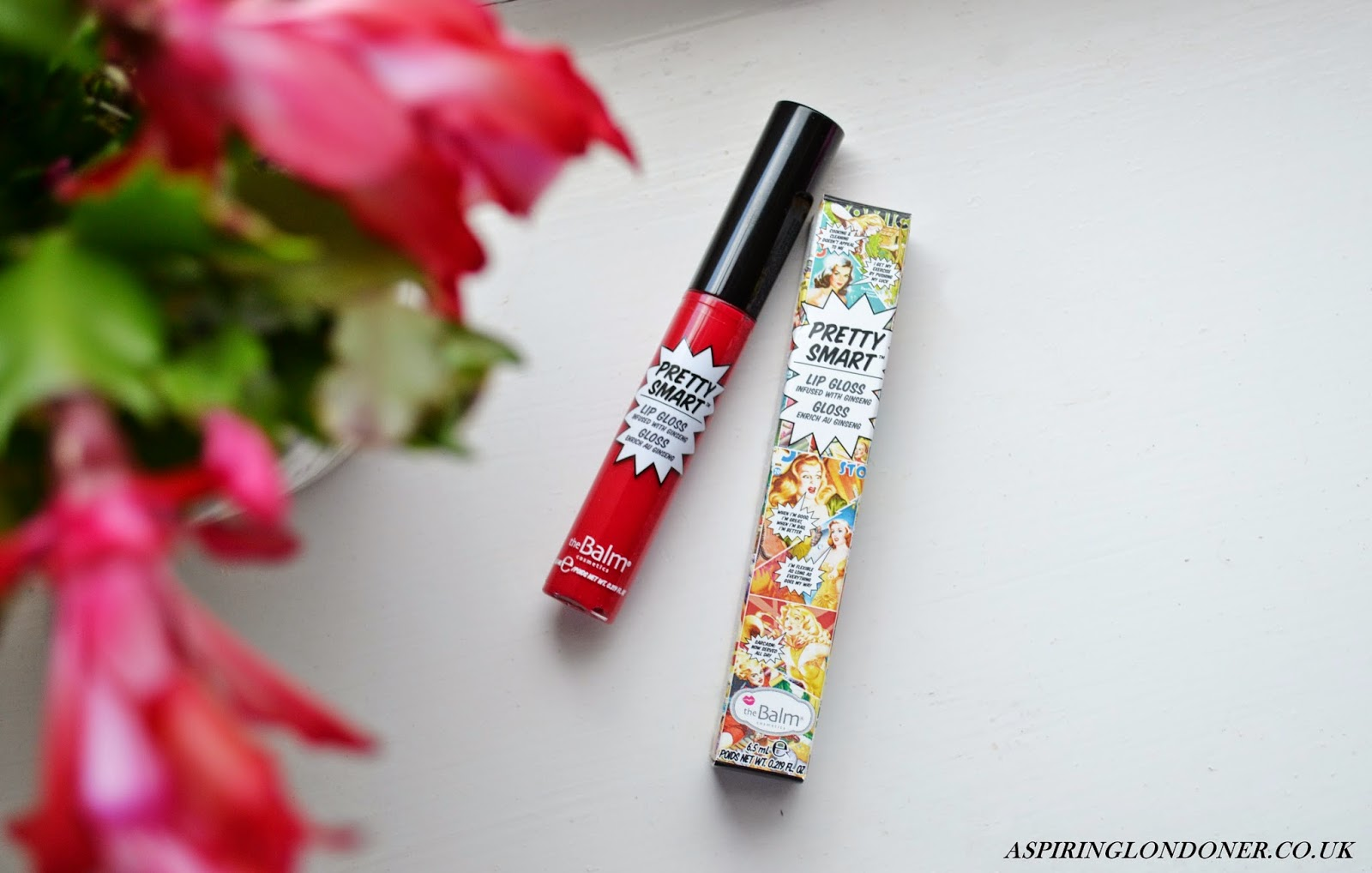The Balm Pretty Smart Lip Gloss in Hubba Hubba Review & Swatch - Aspiring Londoner