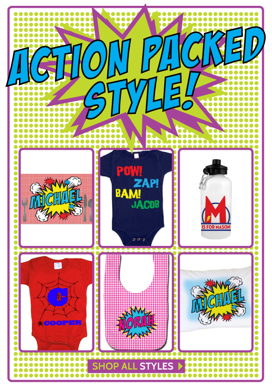 Superhero Gifts for Babies and Kids