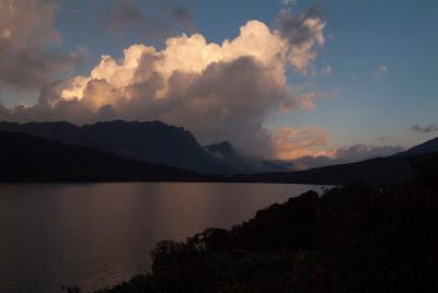 Laguna de Chingaza al atardecer. Foto: Jorge Bela