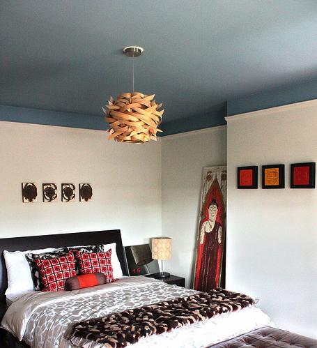 Deco techos a todo color s o no virlova style - Trucos para pintar techos ...