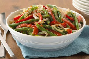 Fresh Peppers and Green Beans