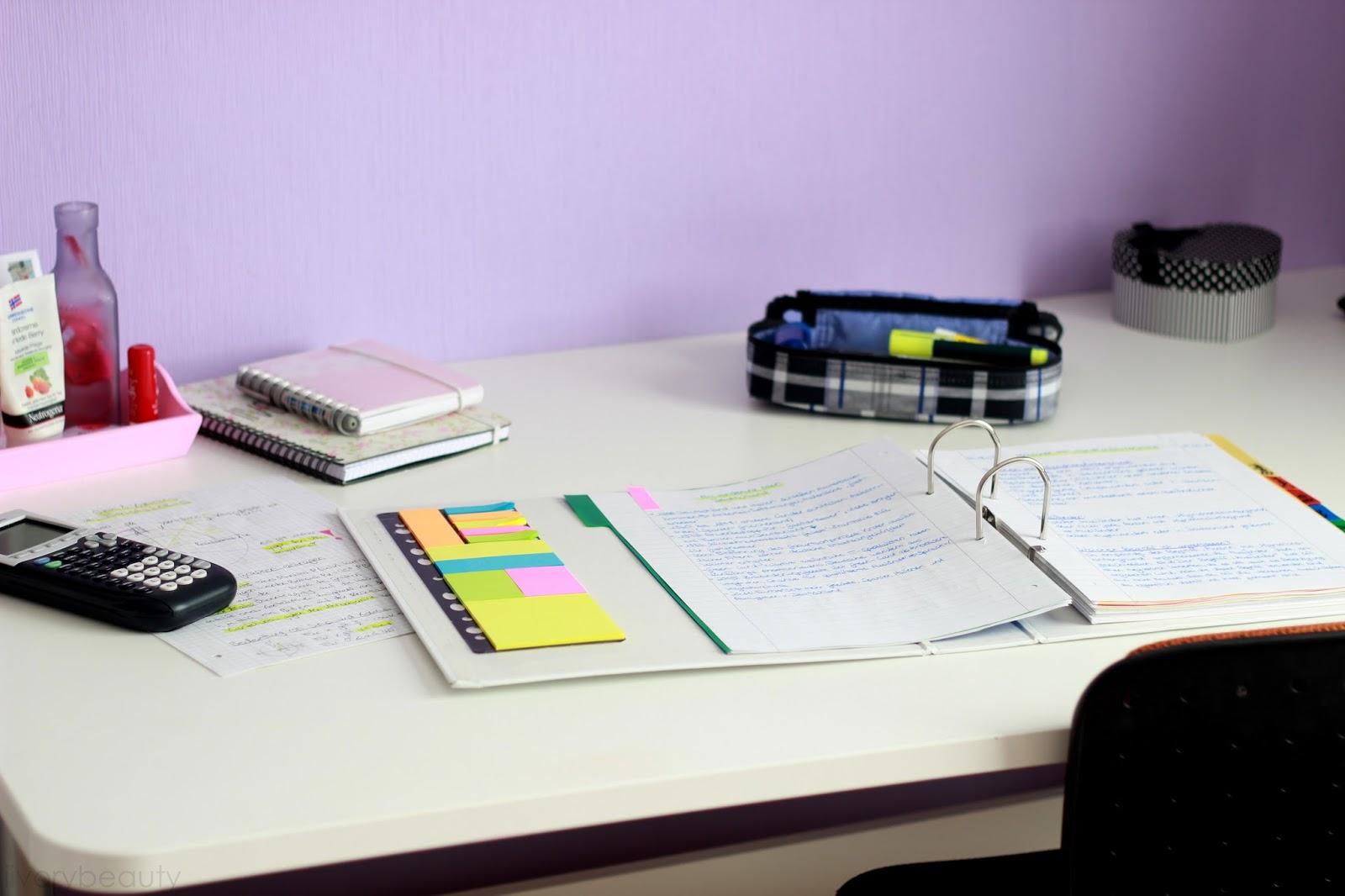 Lerntipps f r vokabeln klausuren tests ivory beauty for Schreibtisch 1 80 m