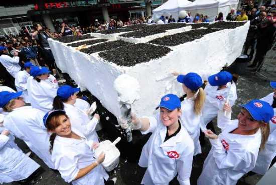 Largest Ice-Cream | Biggest Cake Ever Made In The World